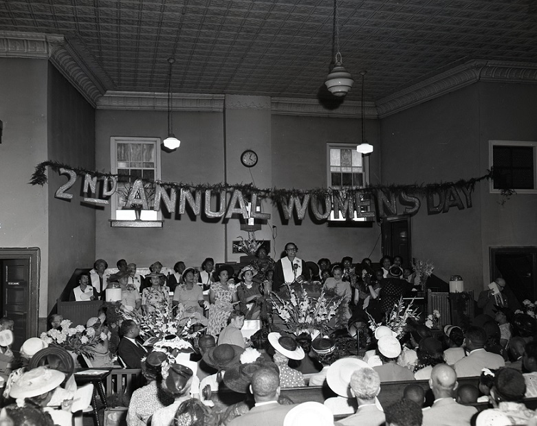 2nd Annual Women's Day at the Bethel AME Church in June, 1951