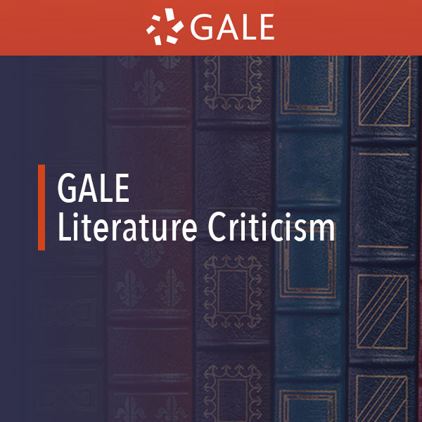 gale literature criticism