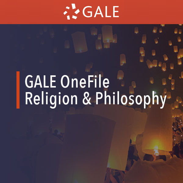 gale onefile religion and philosophy
