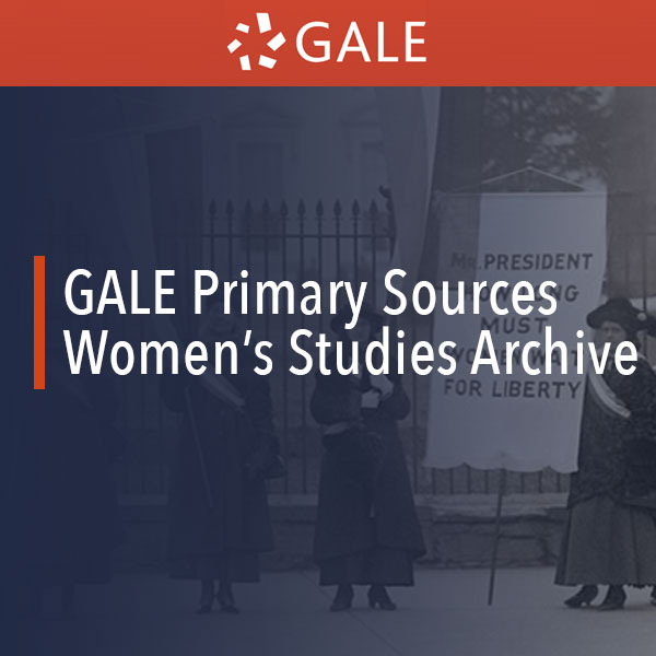 gale women's studies archive logo