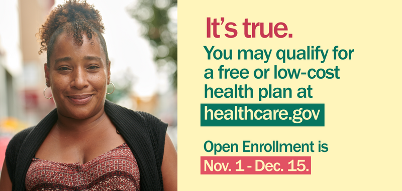 It's true You may Qualify for free or affordable health insurance