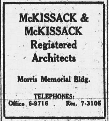 Ad in the Tennessean from May, 1927