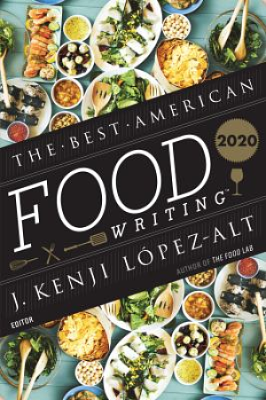 Best American Food Writing 2020 book cover