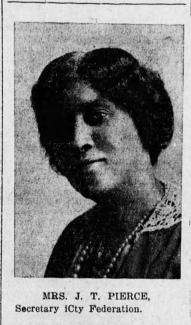 Nashville Globe portrait of Juno Frankie Pierce, June 1918