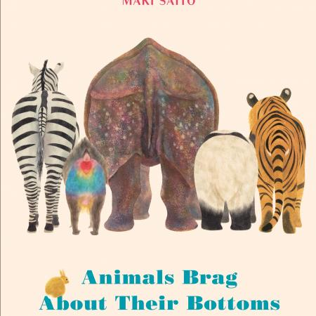 Cover of the picture book Animals Brag About Their Bottoms